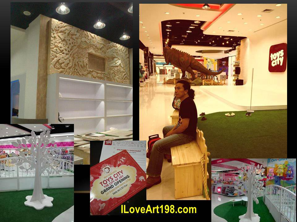 John Art project for Toys city jakarta