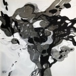 happiness song 100x100cm