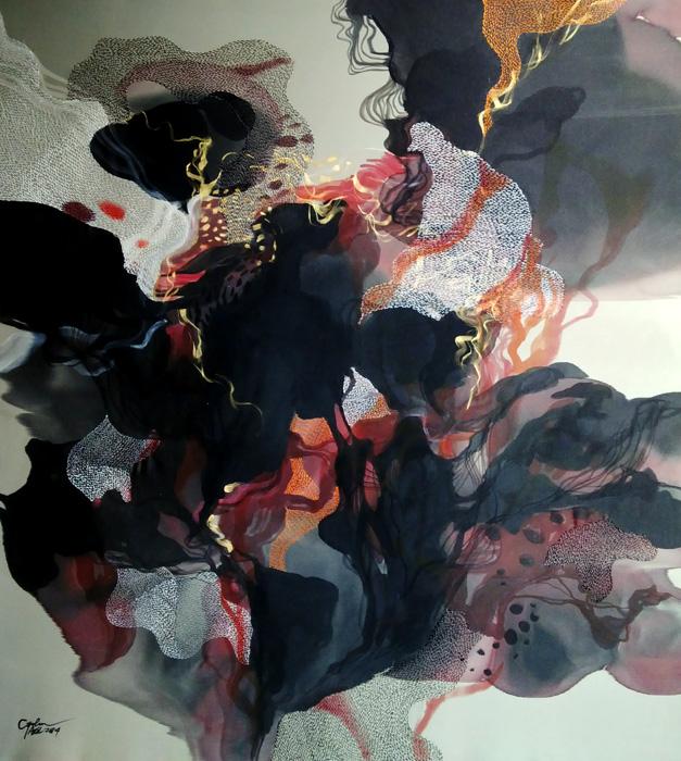Journey song, 115x105 cm 2014
