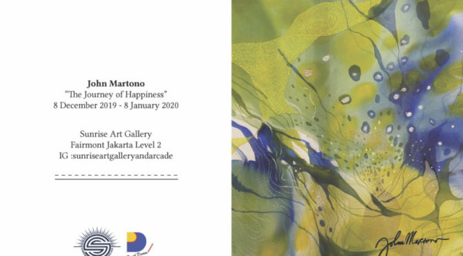 A Solo Exhibition At Sunrise Art Gallery Jakarta